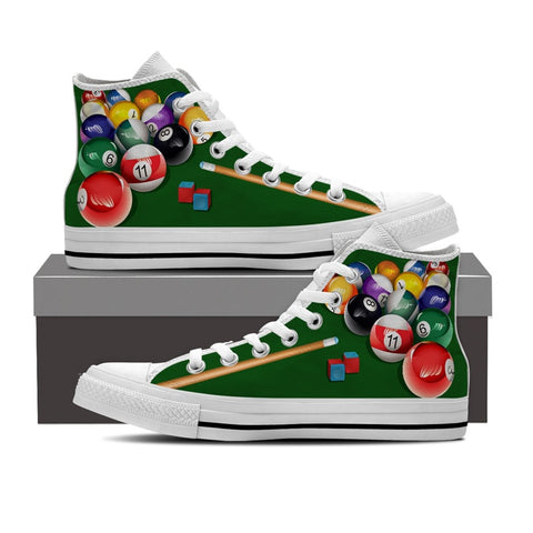 Billiards High Top Shoes-Clearance