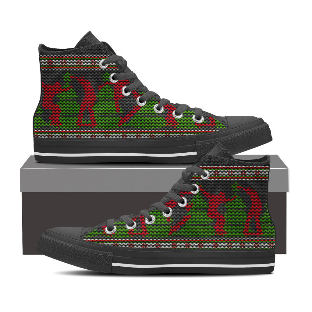 Christmas Skateboard Shoes
