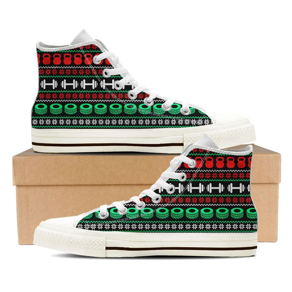 Workout Ugly Christmas Shoe Groove Bags