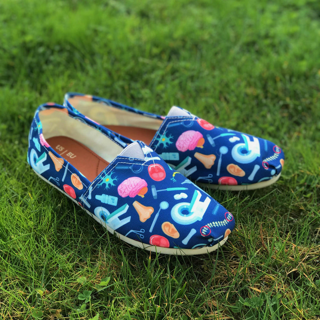 Doctor Pattern Casual Shoes