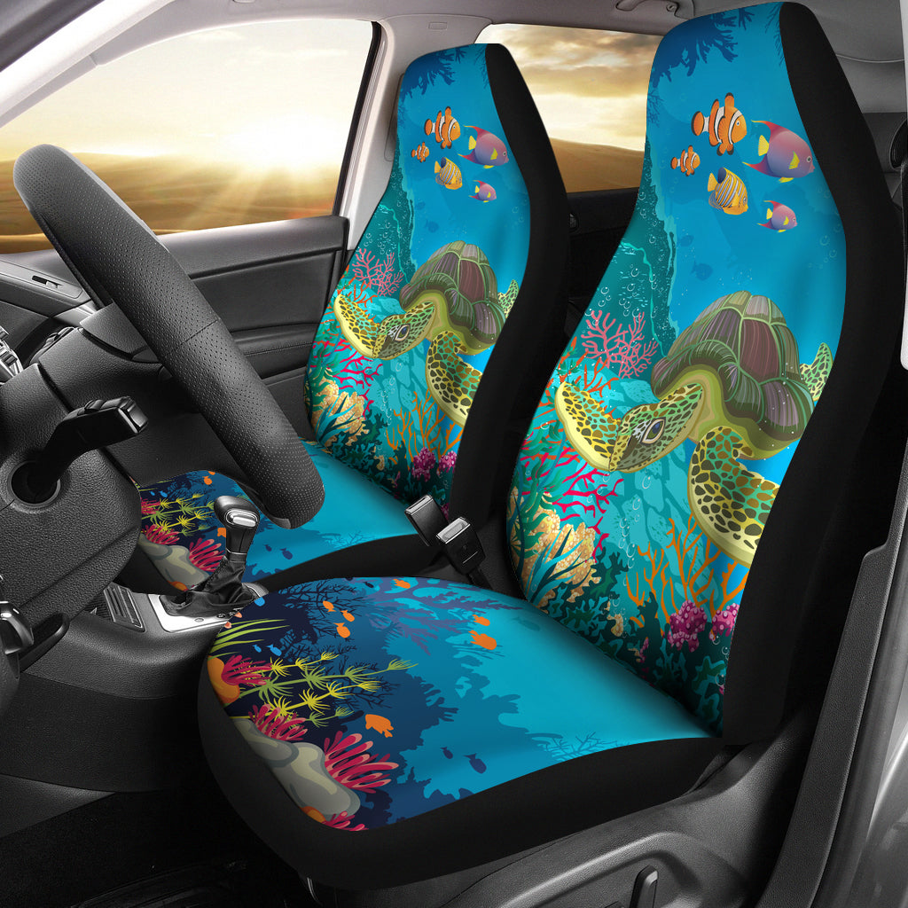 sea turtle car seat cover groove bags. Black Bedroom Furniture Sets. Home Design Ideas