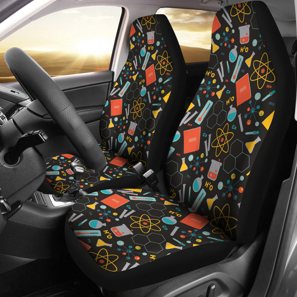 Scientist Pattern Car Seat Covers