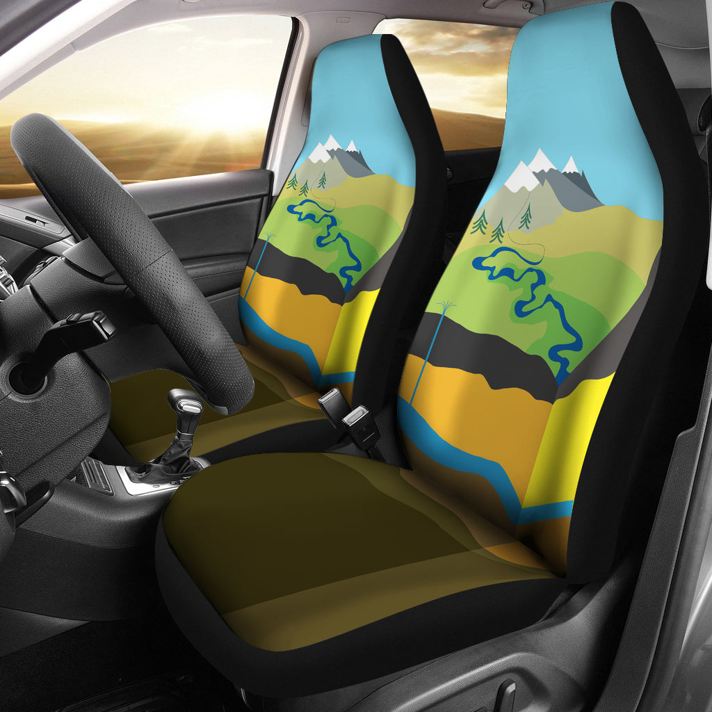 Geologist Car Seat Covers-Clearance