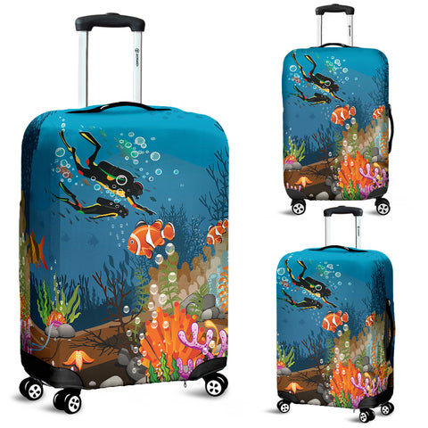 Scuba Diving Luggage Cover