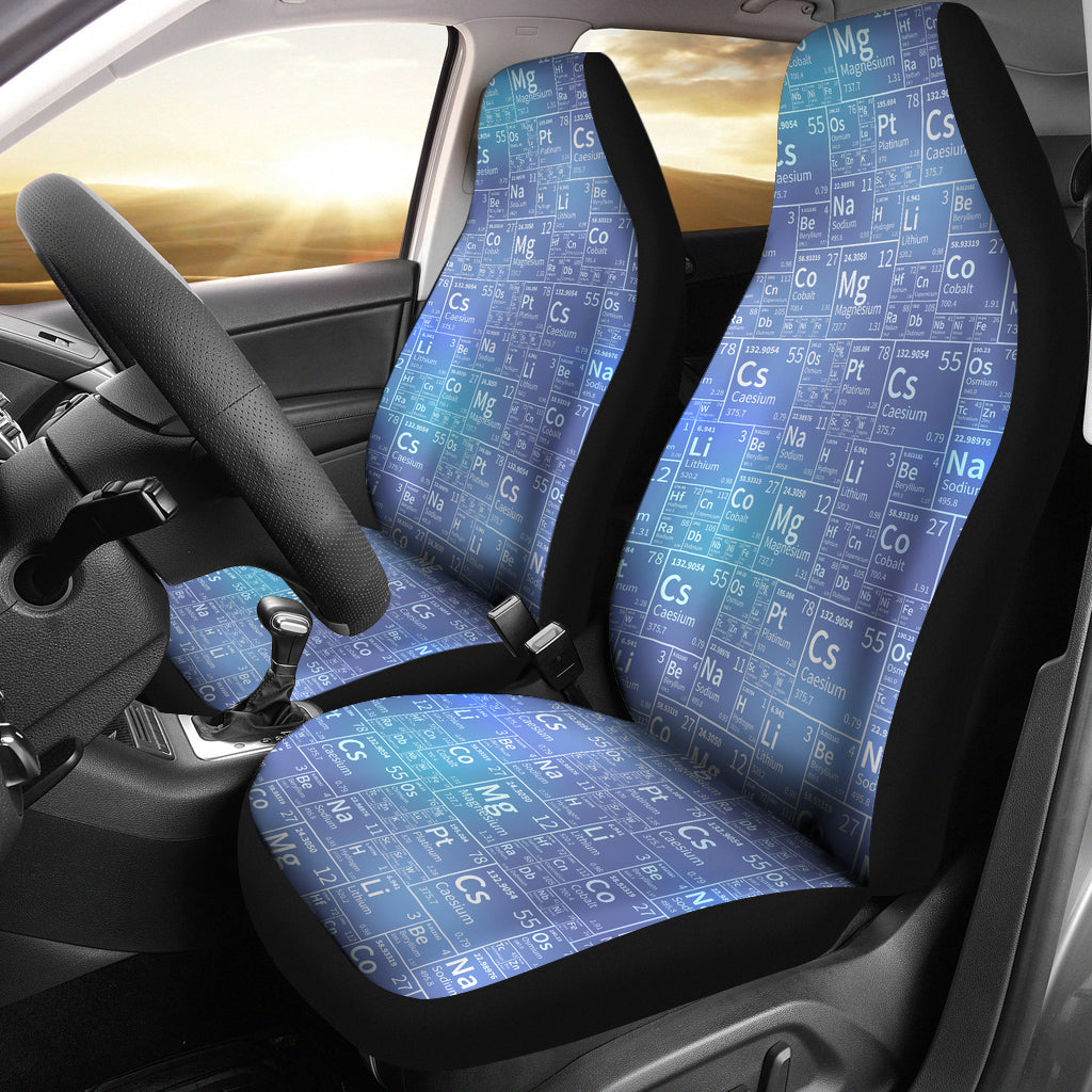 Periodic Table Tile Car Seat Covers