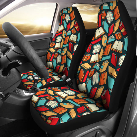 Book Lovers Car Seat Covers