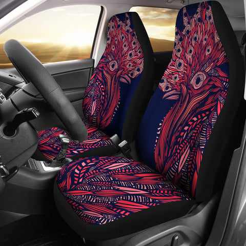 Artsy Rooster Car Seat Covers