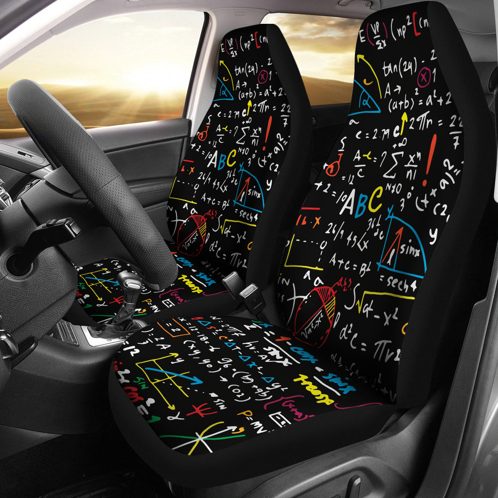 Colorful Math Car Seat Covers – Groove Bags