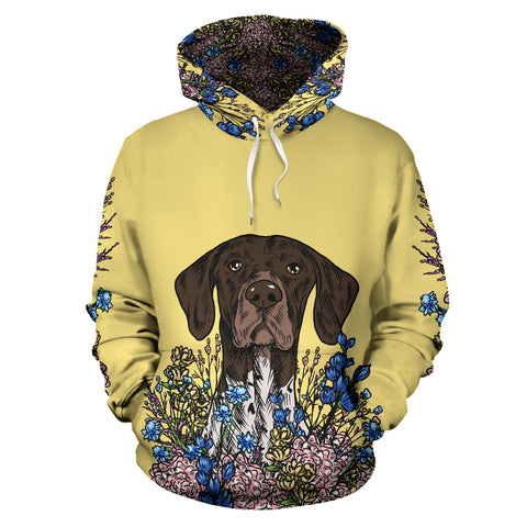 Illustrated German Shorthaired Pointer Hoodie
