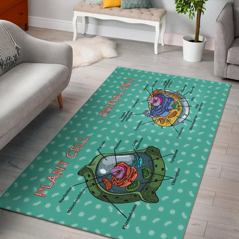 Cell Diagram Area Rug