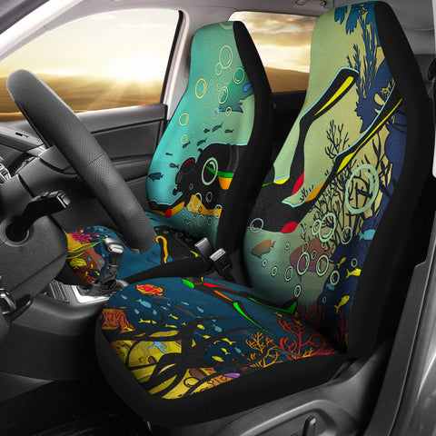 Scuba Diving Car Seat Covers