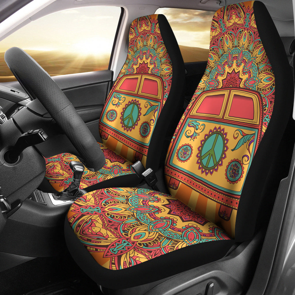 hippie van car seat covers groove bags. Black Bedroom Furniture Sets. Home Design Ideas