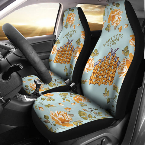 Knitters Gonna Knit Car Seat Covers