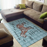 Dog Anatomy Area Rug