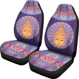 Buddha Mandala Car Seat Covers