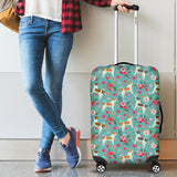 Chihuahua Flower Luggage Cover