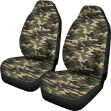 Army Camo Car Seat Cover