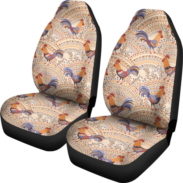 Bohemian Rooster Car Seat Covers Groove Bags