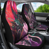 Splatter Guitar Car Seat Covers