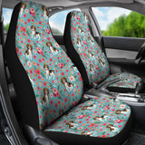Beagle Flower Car Seat Covers