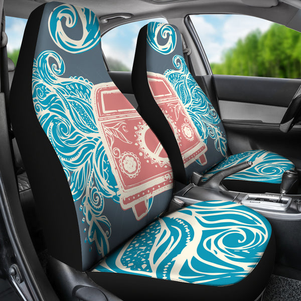 Retro Hippie Car Seat Covers Groove Bags
