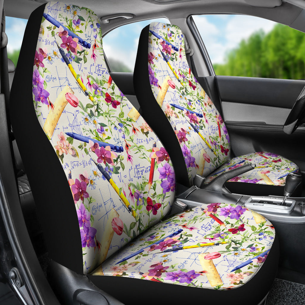 Magnificent Floral Math Car Seat Covers Groove Bags Onthecornerstone Fun Painted Chair Ideas Images Onthecornerstoneorg