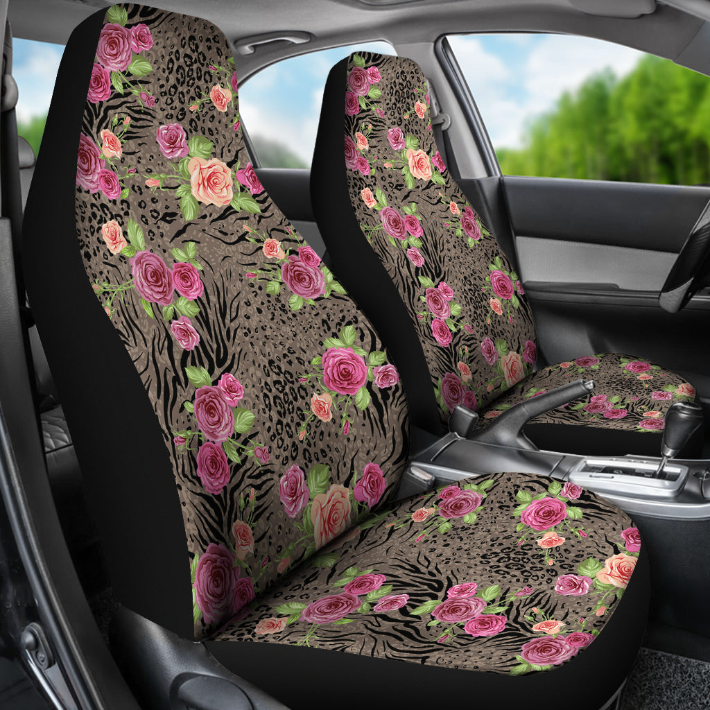 Floral Animal Print Car Seat Covers Groove Bags
