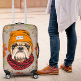 Cool Bulldog Luggage Cover