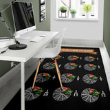 Apple Fractions Area Rug
