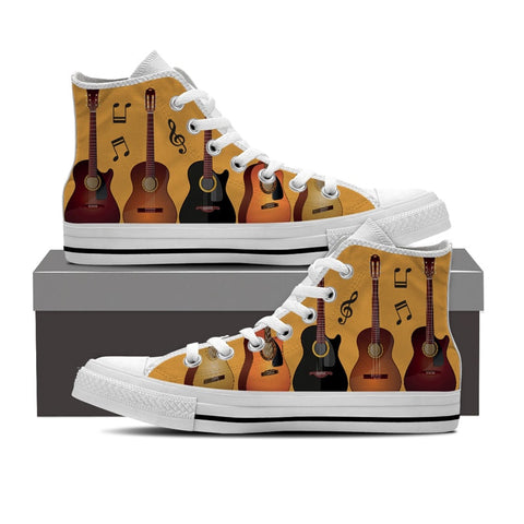 Guitar High Top Shoes