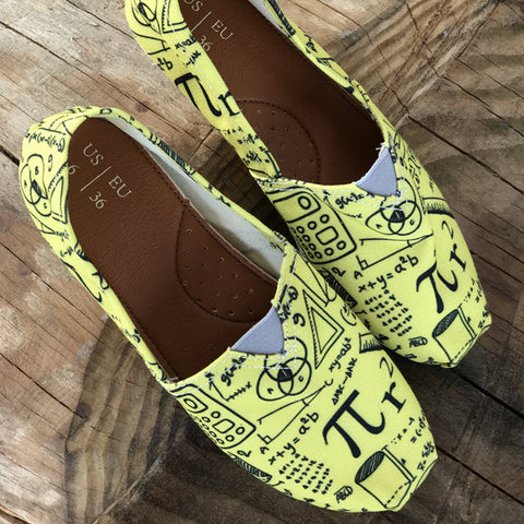 slip on math shoes