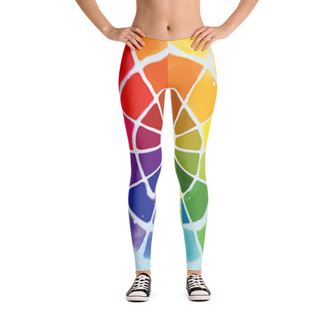 Color Wheel Leggings