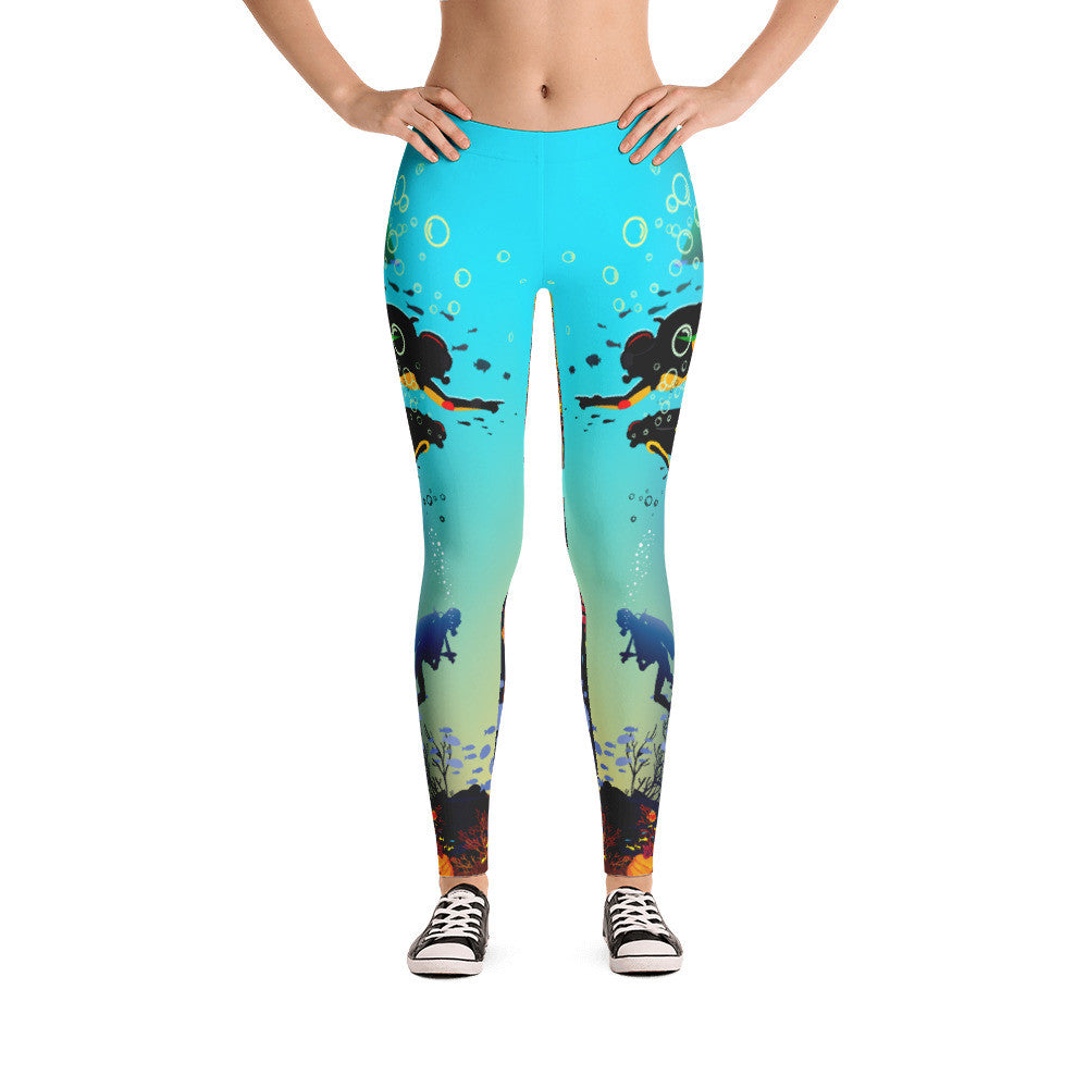 Scuba Diving Leggings
