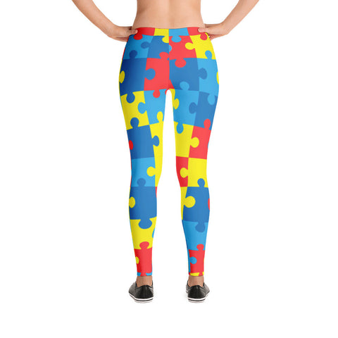 Autism Awareness Leggings
