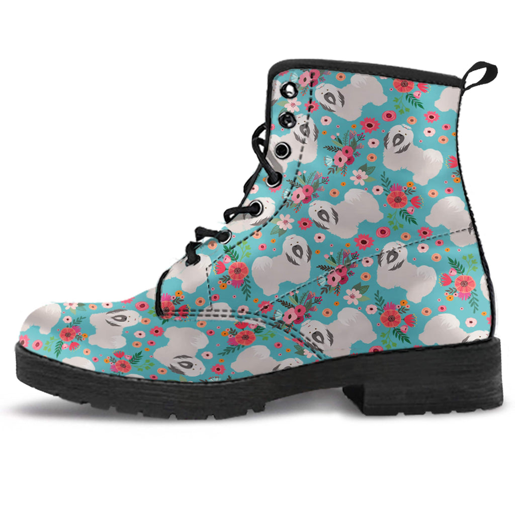 Havanese Flower Boots-Clearance