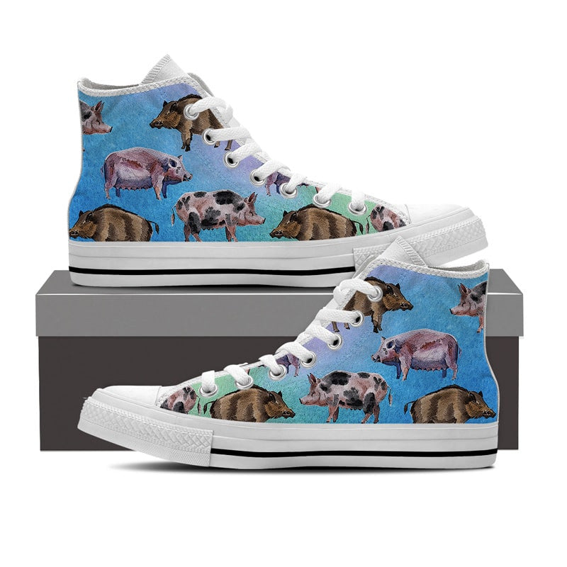Pig Pattern Shoes