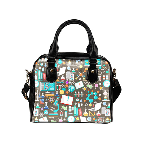 Science Pattern Handbag