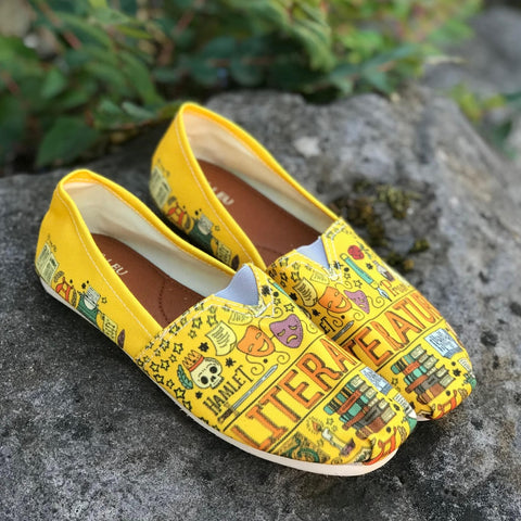 Literature Casual Shoes