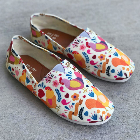 Adorable Chicken Casual Shoes