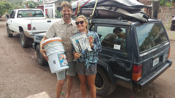 CLEAN MEXI-AGUA FILTERS DELIVERED TO LA TICLA