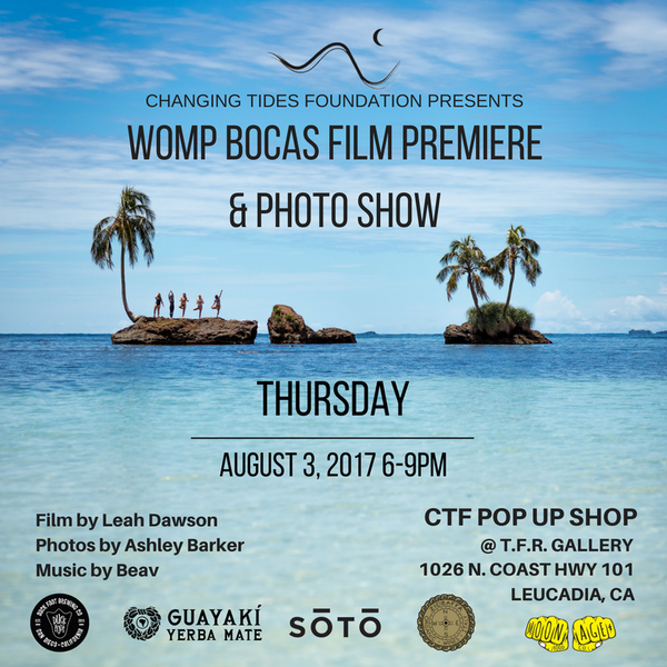 WORLD PREMIERE OF WOMP BOCAS FILM & PHOTO SHOW