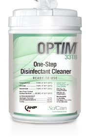 Optim 33 Disinfecting Wipes