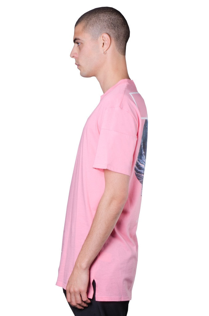 THE CXX - Pale Pink Wave Tee