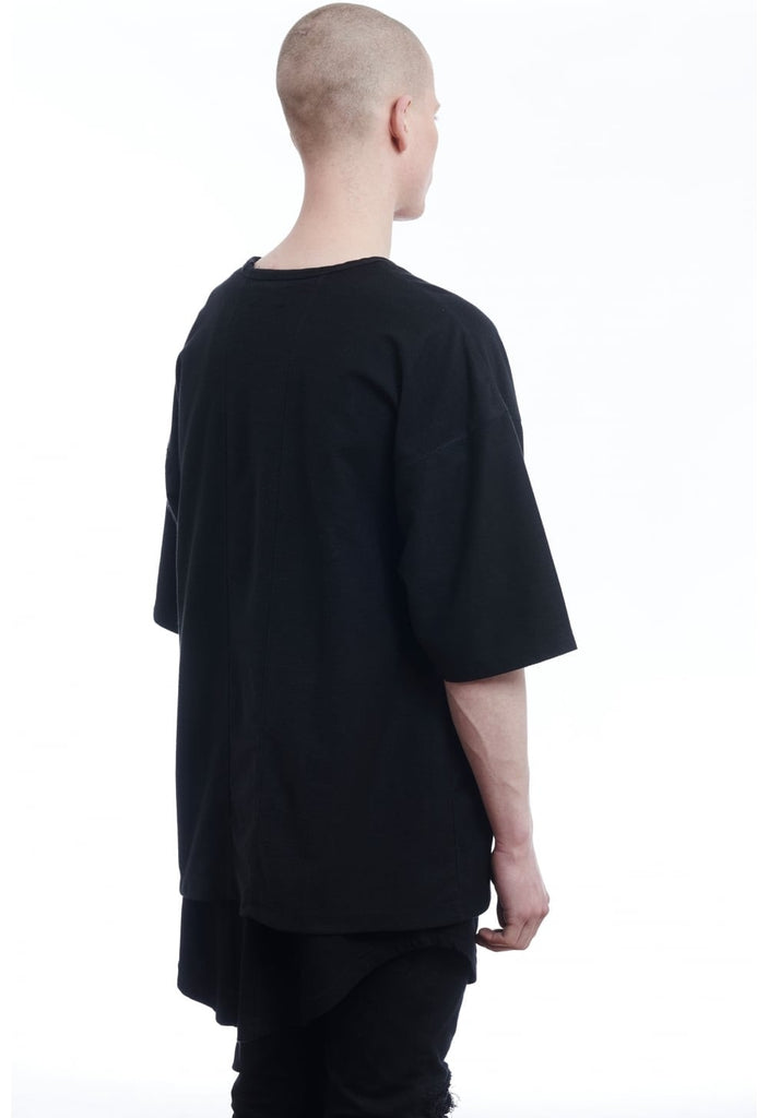 Other UK Oversized Jersey Tee Black