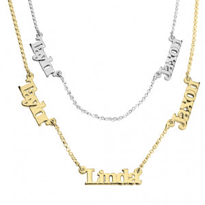 619d61c9cb255 Three Link Name Necklace – Akiko Jewelry