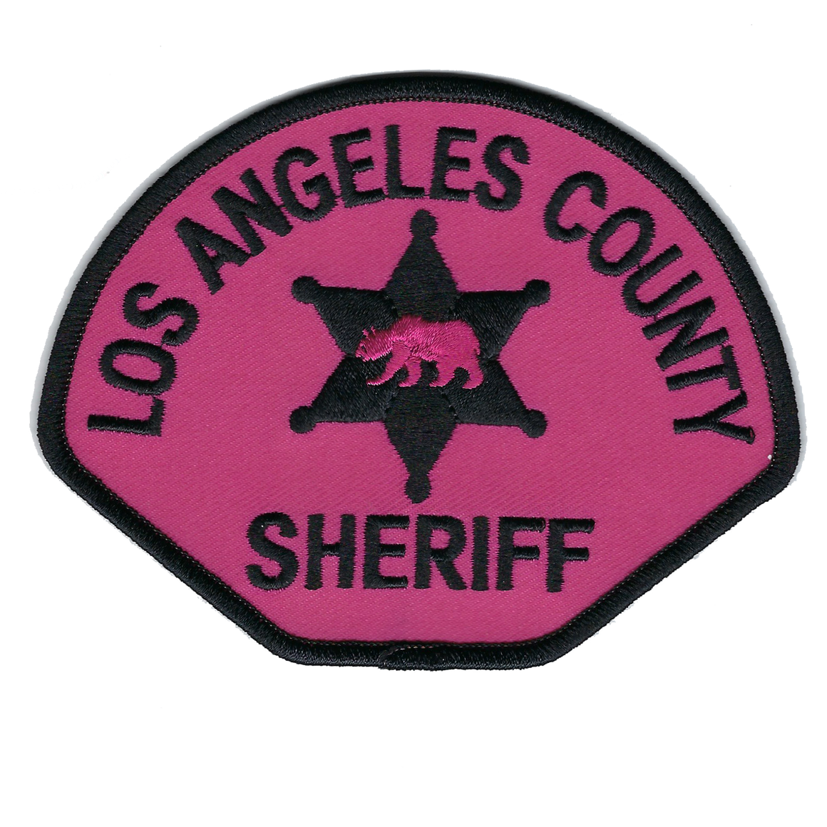 LOS ANGELES COUNTY SHERIFF PINK PATCH 2018  #pinkpatchproject