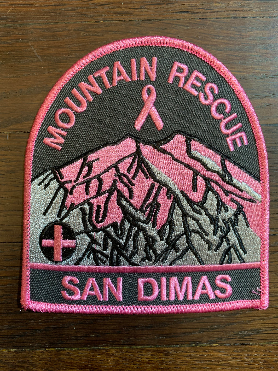 San Dimas Mountain Rescue Team  Patch  #pinkpatchproject