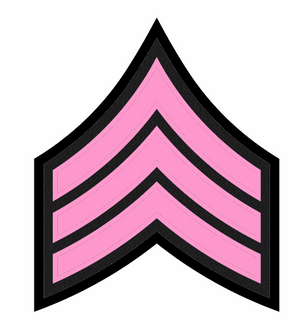 Pink Patch Chevrons