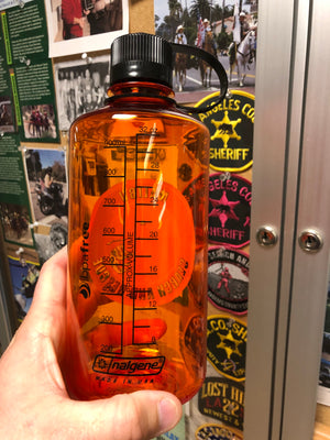 32oz Nalgene bottle - Malibu Search and Rescue