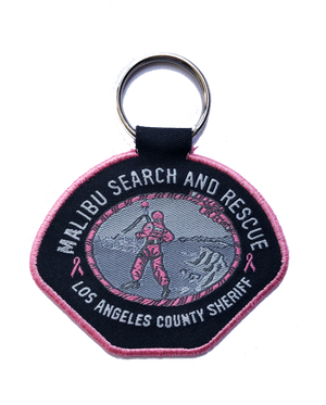 Malibu Search and Rescue Pink Patch Project Keychain #PinkPatchProject LASD
